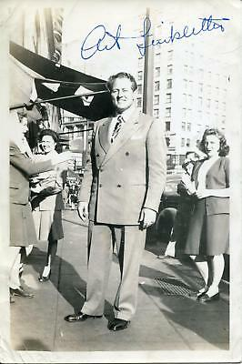 Art Linkletter Autograph Tv Host For Kids Say The Dardnest Things  Signed Photo