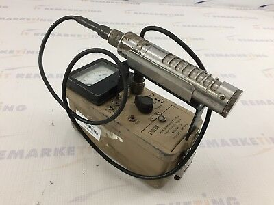 Ludlum Model 2 Portable Survey Meter Geiger Counter w/ 44-6 Probe READ - QTY