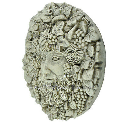 Bacchus - Dionyus - God of Wine and Ecstacy Plaque by Oberon Zell ~ Whitestone