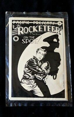 The Rocketeer 1984 DAVE STEVENS Rocketeer 6 Postcards by Pacific Comics SEALED