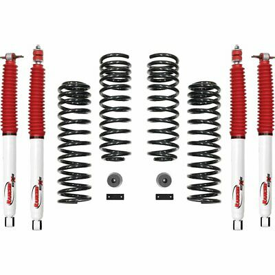 Rancho Suspension Lift Kit Front & Rear New Jeep Wrangler 2007-2018 RS66119BR5