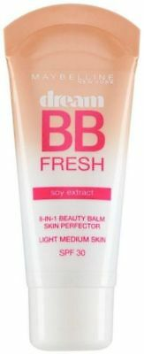 Maybelline Dream BB Fresh Soy Extract 8in1 Beauty Balm - LIGHT/MEDIUM