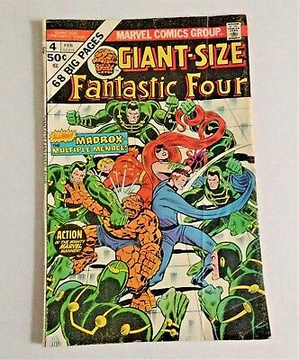Marvel Comics GIANT-SIZE FANTASTIC FOUR #4 1st Madrox..The Multiple Menace!