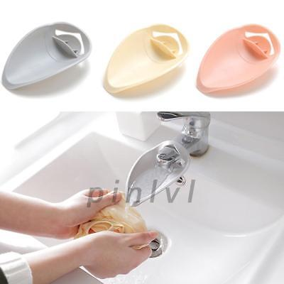 Faucet Cover Extender for Children Baby Kids Hand Washing Helper Bathroom Sink