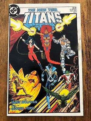 NEW TEEN TITANS #1 Comic 1984 DC WOLFMAN & PEREZ Combine Shipping Sale KEY ISSUE