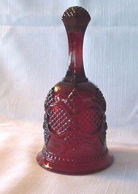 Avon Cape Cod Ruby Red 1979 Dinner Bell - Mint