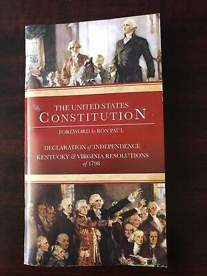 New Pocket Version - US Constitution and Declaration of Independence