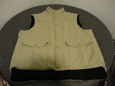 eea76b39aff15 VINTAGE LL BEAN Maine Guide Vest- Usa Made- Men's Xl Tall- Rn 71341 ...