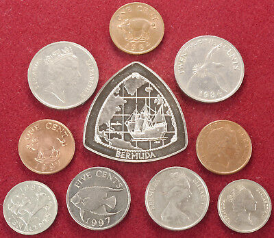 Small Collections of Coins from Cen. America and Caribbean - Choose Country/ Era