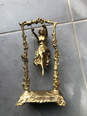Antique PURE Bronze Statue
