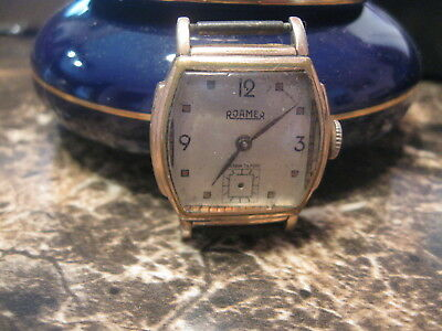 Vintage Roamer  Art Deco  Man's  Watch