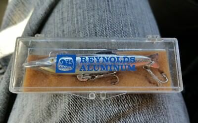 Vintage Reynolds Metals corp Aluminum promotional  shinner Minnow lure
