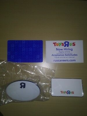 Toys R US Official Employee Name Tag Lot