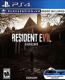 Resident Evil 7 Biohazard RE-SEALED Sony PlayStation 4 PS PS4 GAME RE RE7 VR