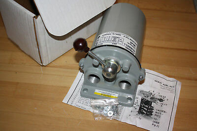 Hubbell Drum Controller Maintained Reversing HCWJ5 Type 4258 #4 Enclosure