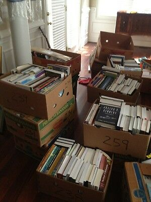 Books Wholesale Lot Over 12,000 College Novels Manuals Cookbooks