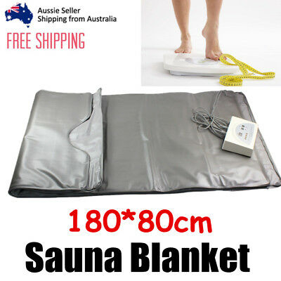 Sauna Blanket FIR Infrared Far Detox Body Slimming Weight Loss Beauty Machine