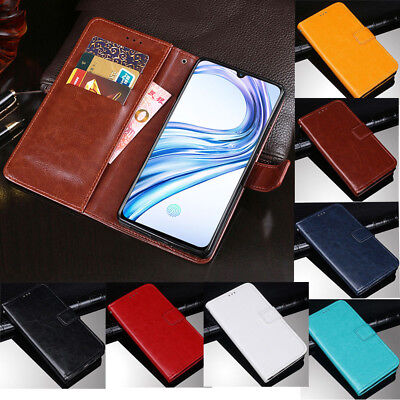 For Vivo X23 Luxury Slim Flip Magnetic PU Leather Case Card Wallet Cover Stand