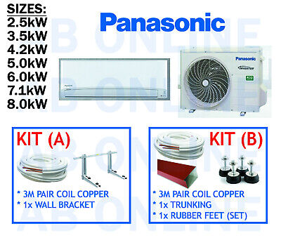 Panasonic Aero Inverter Split System Reverse Cooling Heating Air Conditioner R32