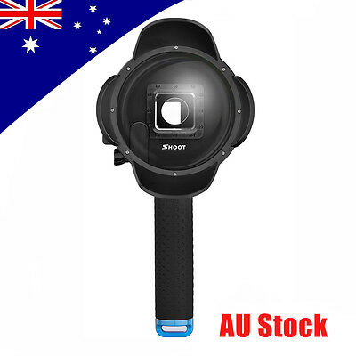 SHOOT Waterproof Dome Port  Lens Camera Cover Housing for Gopro Hero 3+ 4