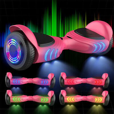 6.5'' Bluetooth Hoverboard Smart Balance Overboard Elettrico Scooter Flash Ruote