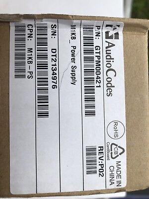 New And Sealed AudioCodes M1KB-PS For Mediant 1000b