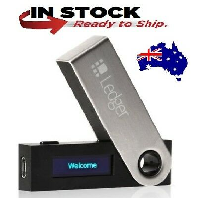LEDGER NANO S CryptoCurrency Hardware Wallet BTC Ethereum Ripple Wallet IN STOCK