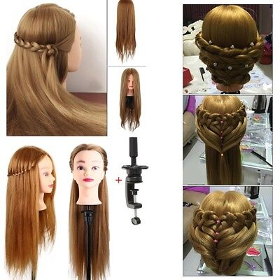 2018 Hair Training Head Model Stand Holder Hairdressing Clamp Practice Mannequin