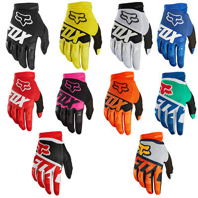 FOX Full Finger Racing Motorcycle Gloves Cycling Bicycle  Bike Riding Gloves  A+