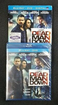 Dead Man Down (Blu-ray/DVD, 2013, 2-Disc Set, Includes Slipcover) NEW Free Ship
