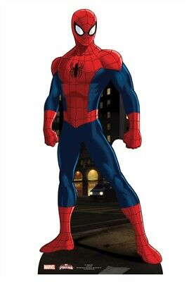 Spider-Man Pappaufsteller (Stand Up) - Mini Spider-Man (96 cm)
