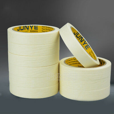 20m 50m Masking Tape Adhesive Width 10 to 100 mm for Decorating Painting