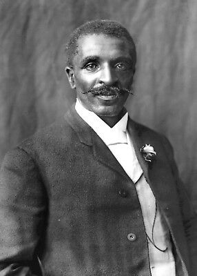 George Washington Carver Photo-American Botanist and Inventor-Food Research