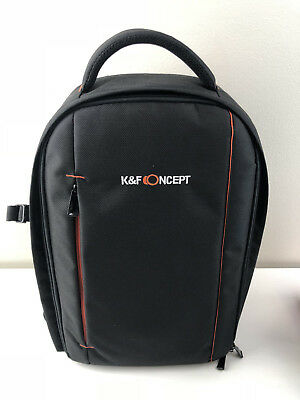 K&F Concept Camera Backpack Bag Waterproof Large Capacity for Nikon Canon DSLR