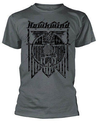 Hawkwind 'Doremi' (Charcoal) T-Shirt - NEW & OFFICIAL!