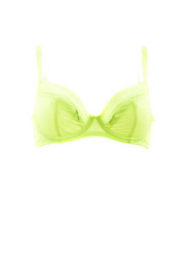 L/'Agent by Agent Provocateur Women/'s New Elastic Brief Neon Green RRP £33 BCF88