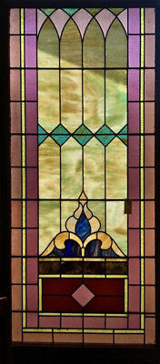 Beautiful Large Stained Glass Window, Circa 1880, Great Condition (6664-C)