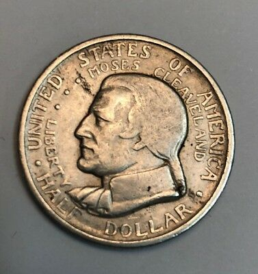 1936 Moses Cleveland Great Lakes Expo Half Dollar
