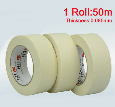3M General Purpose White Masking Tape Adhesive for Auto Painting Decoration