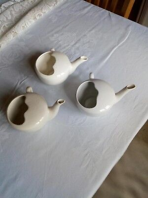 Three vintage british made invalid cups all are in very good condition Free P+P