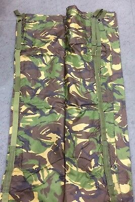 BRAND NEW Genuine British Army Issue DPM Camo Shelter Basha Sheet Tarp #592