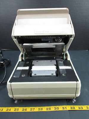 DataCard Addressograph Card Imprinter 860 Embosser Business Equipment SKUBCS2