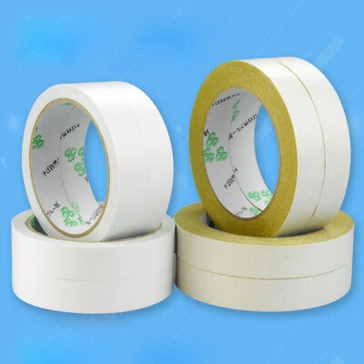 15m 20m 50m Double-Sided Tape White/Yellow Width 10 15 20 25 30 40 50 mm