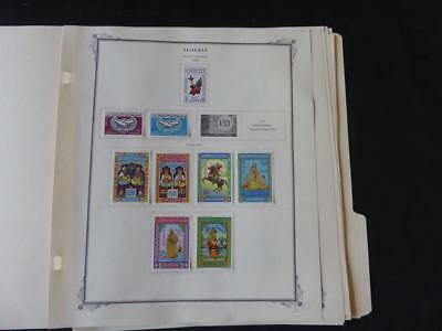 Algeria 1965-1967 Mint Stamp Collection on Scott Specialty Album Pages