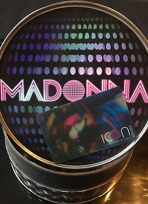 MADONNA Icon Fan Club Tin - Madonna memorabilia - Madonna Collectables