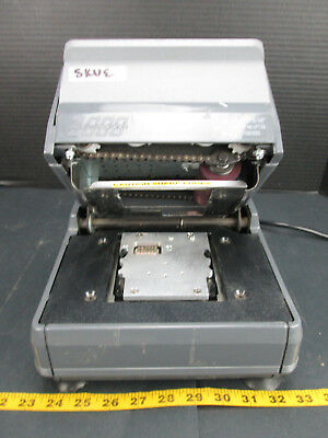 NewBold Addressograph Electric Card Imprinter Model No. 2000 Embosser SKUECS2