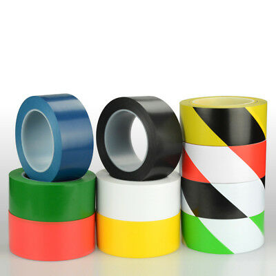 17m 33m Vinyl Floor Hazard Marking Safety Warning Tape PVC Multi Color Optional