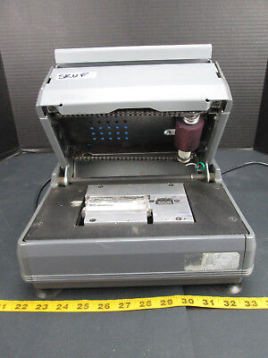 NewBold Addressograph Electric Card Imprinter Model No. 2200 Embosser SKUFCS2