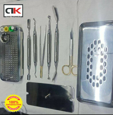 PRF and GRF Box Platelet Rich Fibrin With Bowl And Tray Set With Instruments