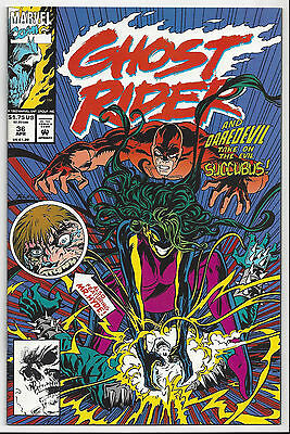 Ghost Rider #36 Nm/mint 9.8 : 1990 Series : Send This Book To Cgc!